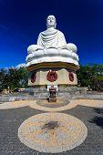 White Buddha Statue In Nha Trang, Vietnam