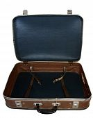 Opened Vintage Suit-case