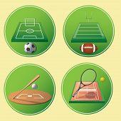 Sport Stylized Icons