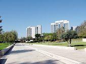 Bar-ilan University View Of Dahan Park