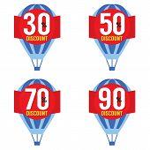 Hot Air Balloon Sale.
