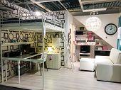 Sweden - August 01:interior Furniture Store