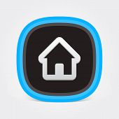 Colorful Flat Home icon