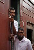 In The Lankan Train