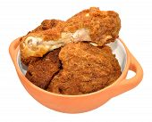 Southern Fried Chicken Portions