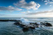 Waves At Portwrinkle