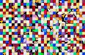 Mosaic Pattern Background