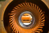 Stator of a big electric motor