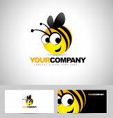 Bee Logo Design Concept