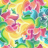 Seamless Hand Drawn Pattern.