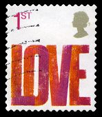 Love Used British Postage Stamp