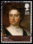 Queen Anne Used Postage Stamp