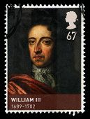 King William Iii Used Postage Stamp