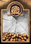 Lumber Industry - Wooden Signboard