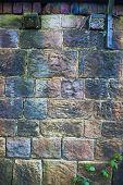 Grungy Stone Wall Background