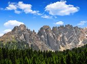 Mt Latemar in Dolomites