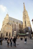 St. Stephen's Cathedral In Vienna,austria