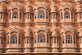 Detail Of Palace Of Winds, Jaipur