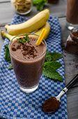 stock photo of smoothies  - Chocolate - JPG