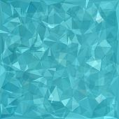 picture of polygon  - Abstract Blue Polygonal Background - JPG