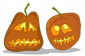 2 Smile Pumpkins