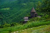 picture of armenia  - Photo of the Ancient monastery Tatev - JPG