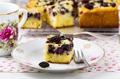 picture of mulberry  - pie with a mulberry - JPG