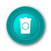pic of recycle bin  - Recycle bin icon - JPG