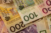 image of zloty  - Money and savings concept - JPG
