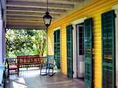 Front Porch on an Old Country House - Bed & Breakfast