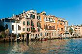 Постер, плакат: Венеция дворец на Гранд канал