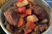 Texas Beef Soup, Closeup