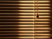 Closed Venetian Blinds Background