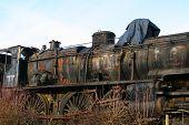Derelict Railway Locomotive