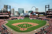 St Louis 23. Mai: Busch Stadium Heimat der St. Louis Cardinals und Website des 2009 all-star Gam