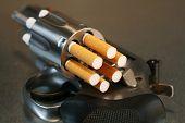 Cigarette Loaded Revolver