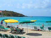 Beach In St. Thomas, Usvi