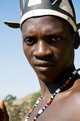 african zulu man