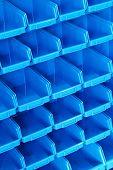 Blue Shelf Pattern