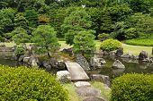 picture of shogun  - Japanese park near Nijo - JPG