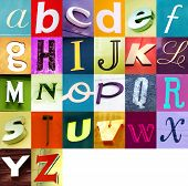 Постер, плакат: Городские алфавит 2