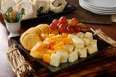 Cheese And Crackers Party Tray