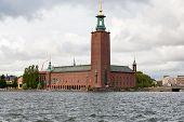 View On Stockholm City Hall, Sweden