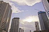 Cityscapes scenes of Sathorn Bangkok