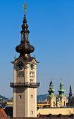 Linz - Landhaus Turm / Oberösterreich österreichischen Landtag