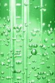 Bubbles In Liquid - Green