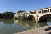 Canal Du Midi Aqueduct in Beziers
