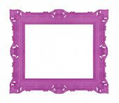 Decorative contemporary picture frame