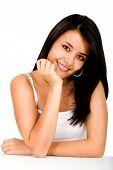 Casual Woman Portrait - Smiling