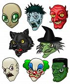 Halloween Heads